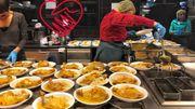 Bientôt 400 repas par jour pour les démunis au Grand Café de la Gare des Guillemins.