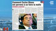 CommentCarlos Ghosn est parvenu à se faire la malle