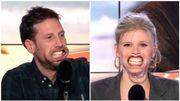 """François Denamur et Alyssia Delré chantent """"Aimer"""" en duo, mais avec un mâche-mots !"""
