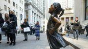 """La """"Fillette Intrépide"""" fait maintenant face à la Bourse de New York"""