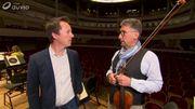 Séquence « Inside » : le premier violon, Dirk Van de Moortel