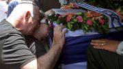 Funérailles d'un soldat israélien à Holon