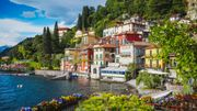 Lac de Côme en Italie