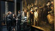 """L'université d'Anvers prend part à la restauration de """"La Ronde de nuit"""" de Rembrandt"""