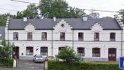 L'ancienne gare de Baudour reconvertie en maison maternelle