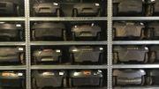 Plus de 1.500 tondeuses passeront à l'entretien en quatre mois dans cet atelier.