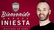 Vissel Kobe déroule le tapis rouge à Andrés Iniesta