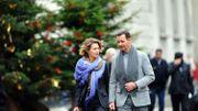 Bachar al-Assad en compagnie de sa femme Asma
