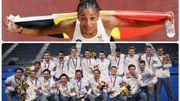 JO Tokyo 2020: Les Red Lions et Nafi Thiam se parent d'or en moins d'une heure, journée historique pour le sport belge
