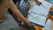 L'escalier sert à lister les objectifs pour les élèves. Il se trouve dans le portefolio.