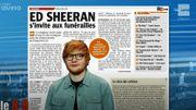 Ed Sheeran s'invite aux funérailles!