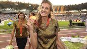 Photo olympique : Kalut 4x100m Pékin