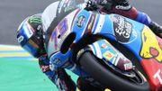 Victoire d'Alex Marquez en Moto 2 à Montmelo, Siméon 12ème