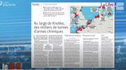 Au large de Knokke, 35 000 tonnes de bombes chimiques diffusent leur poison !