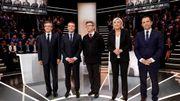 Présidentielle française: un débat calme sur le plateau, agité chez les militants (infographies)