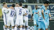 Anderlecht vient à bout de dix Gantois dans un match sous haute tension