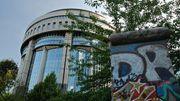 Le mur de Berlin oublié en plein coeur de Bruxelles