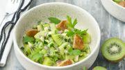 Recette : Tartare de légumes et kiwis