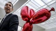 Jeff Koons offre une oeuvre originale à Paris