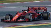 Un Vettel boulimique domine la première matinée d'essais à Barcelone, Raikkonen à la faute
