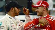 Hamilton et Vettel