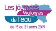 Ce sont les Journées Wallonnes de l'Eau jusqu'au 31 mars