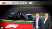 Ferrari spectateur d'un duel Hamilton-Verstappen explosif