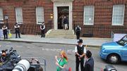 Kate Middleton admise à la maternité