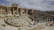 Conflit en Syrie - Concert d'un orchestre symphonique russe dans l'amphithéâtre de Palmyre