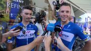Alaphilippe-Gilbert, France-Belgique chez Quick-Step