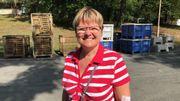 Christine Bourdeauducq est auditrice pour l'ASBL Accès-I et donne le feu vert aux festivals pour les aménagements pour les handicapés.
