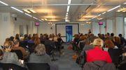 Cette conférence-débat a rassemblé de nombreux journalistes pour échanger au sujet de la liberté de la presse.