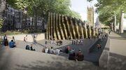 """Le Mémorial de la Shoah de Londres comme un """"parc de la conscience britannique"""""""