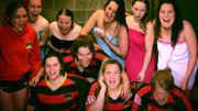 Dans le vestiaire des joueuses de rugby de Namur!