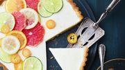 Recette : tarte panna cotta aux agrumes