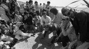 """Présentation à Cannes de """"La vie de Brian"""" en 1983"""