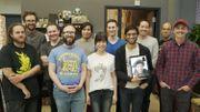 Une partie de l'équipe du studio Supergiant