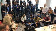 conférence de presse du parquet de Bruxelles