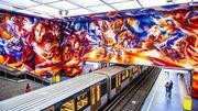 L'art dans le métro bruxellois, des visites guidées dans cette galerie d'art souterraine