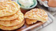 La recette de Candice en 3 ingrédients: Pain nuage sans farine et sans gluten