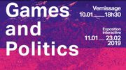 Expos interactives : Games and Politics + Junk Office