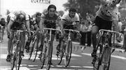 Thurau s'impose à Pau sur le Tour 1977.