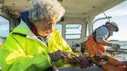 Cette Américaine pêche encore le homard en mer à 101 ans