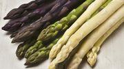 Blanches, vertes ou violettes. Vous n'imaginez pas ce que l'asperge peut vous apporter...
