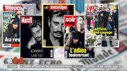 La presse magazine aux couleurs de Johnny Hallyday cette semaine