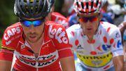De Gendt a voulu assurer sa 2ème place au classement de la montagne