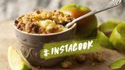 #InstaCook : un crumble sans gluten et sans lactose