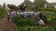 """Au """"POT'Ager OHEY"""" se sont aussi les enfants qui jardinent"""