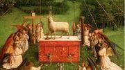 """Restauration de """"L'adoration de l'Agneau Mystique"""""""