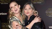 Billie Lourd va avoir une scène avec sa mère Carrie Fisher dans le prochain «Star Wars»